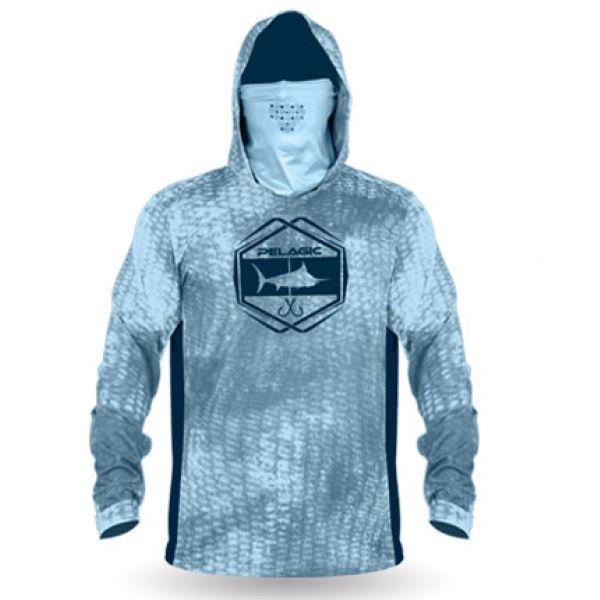 Pelagic Exo-Tech Long Sleeve Hooded Shirt
