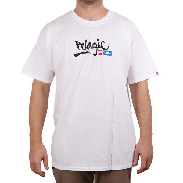 Pelagic Script Logo Short Sleeve T-Shirt