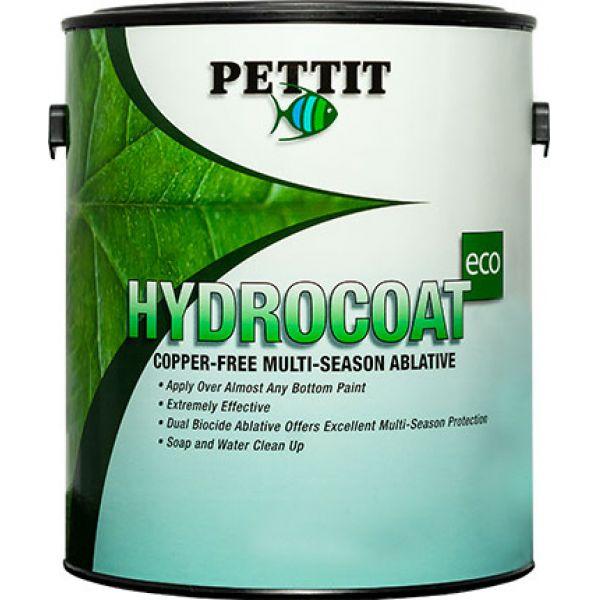 Pettit Hydrocoat Eco Bottom Paint - Gallon - Black