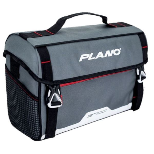 2-3600 passagers clandestins inclus-Rouge Gris Plano week-end série Softsider Tackle Bag