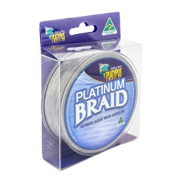 Platypus Platinum Braid Fishing Line - 50 lb