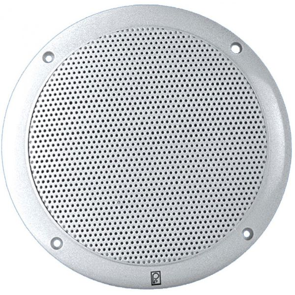 Poly-Planar Performance MA4054 Two-Way White 4in Round Speakers (Pair)