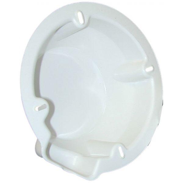Poly-Planar 7-1/8in Speaker Back Cover - White