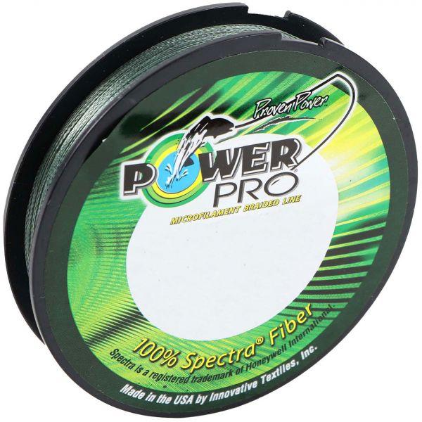 PowerPro Braided Spectra Fiber Fishing Line Moss Green 150 Yds.