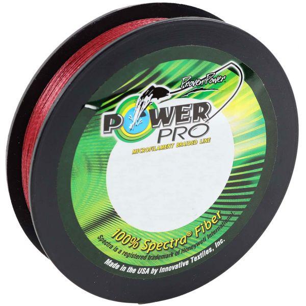 PowerPro Braided Spectra Fiber Line - Vermilion Red - 300yds. 150lb.