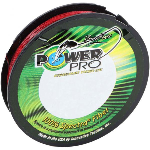 PowerPro Braided Spectra Fiber Fishing Line Vermilion Red 80LB 150 Yds