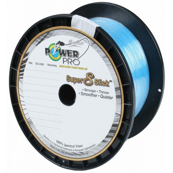 PowerPro Super Slick Braided Line 80lb 1500yds Marine Blue