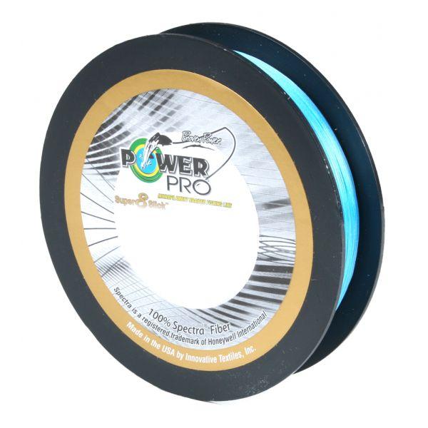 Power Pro Super Slick 8 Braid Fishing Line 40lb Test 150 Yds Marine Blue 40#