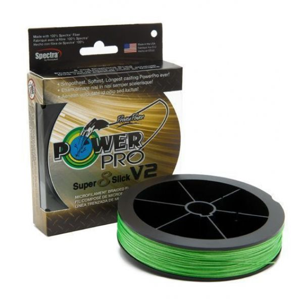 PowerPro Super Slick V2 Braided Line 65lb 1500yds - Aqua Green