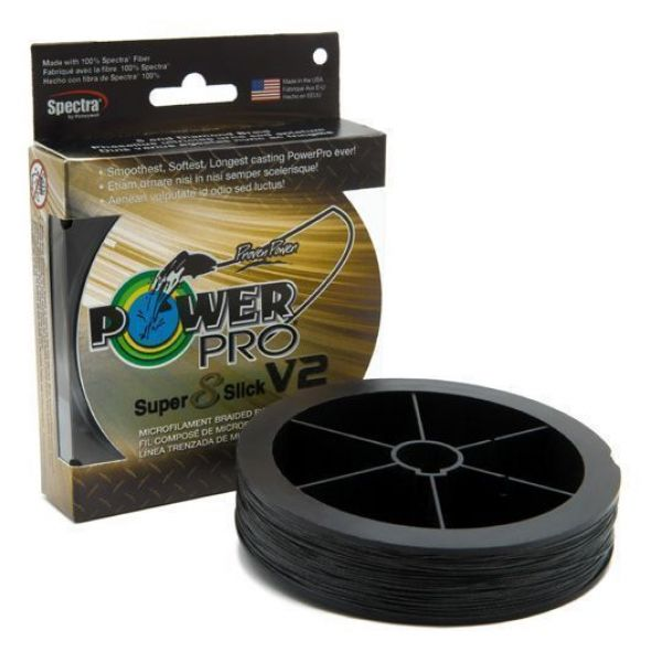 PowerPro Super Slick V2 Braided Line 65lb 3000yds - Onyx