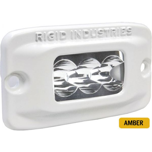 Rigid Industries 97212 Marine SR-M2 Flush Mount Wide Amber