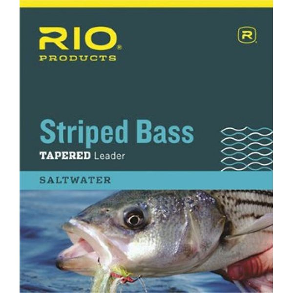 RIO 6-24069 Striped Bass Tapered Leader - 7ft - 30lb