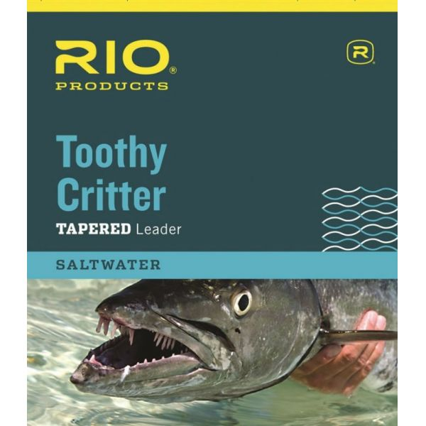 RIO Toothy Critter Tapered Leader (Knot-able Wire) - 15lb
