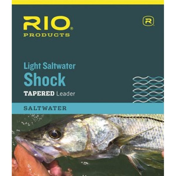 RIO 6-24304 Light Saltwater Shock Tapered Leader - 10ft - 25lb