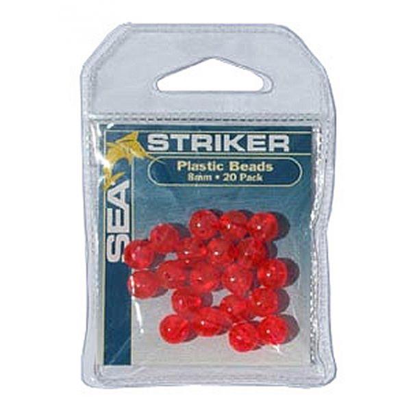 Sea Striker Round Plastic Beads