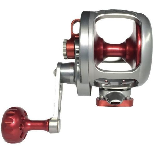 Seigler Reels R109R OS Offshore Small Conventional Reel Smoke/Red