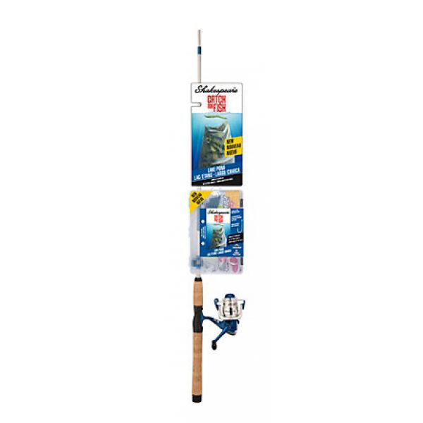 Shakespeare CMF2LAKEPOND Catch More Fish Lake/Pond Spinning Rod