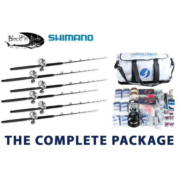 Shimano/Blackfin White Marlin Complete Package