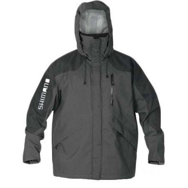 Shimano Dryfender 3T Jacket Charcoal