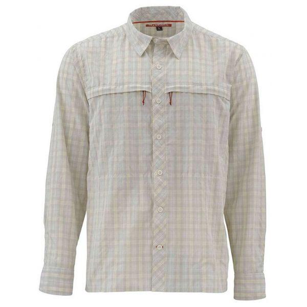 Simms PG-10801 Stone Cold Shirt - Birch Plaid Large