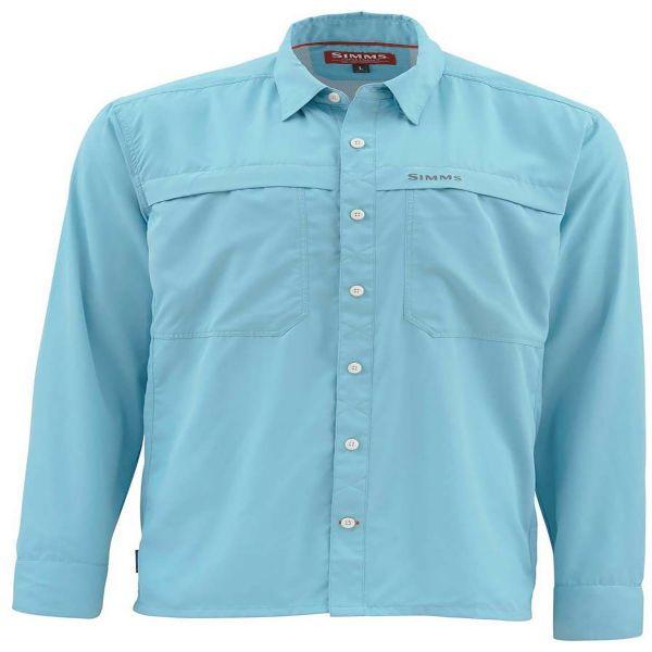 Simms PG-10802 EbbTide LS Shirt - Sky Blue Small