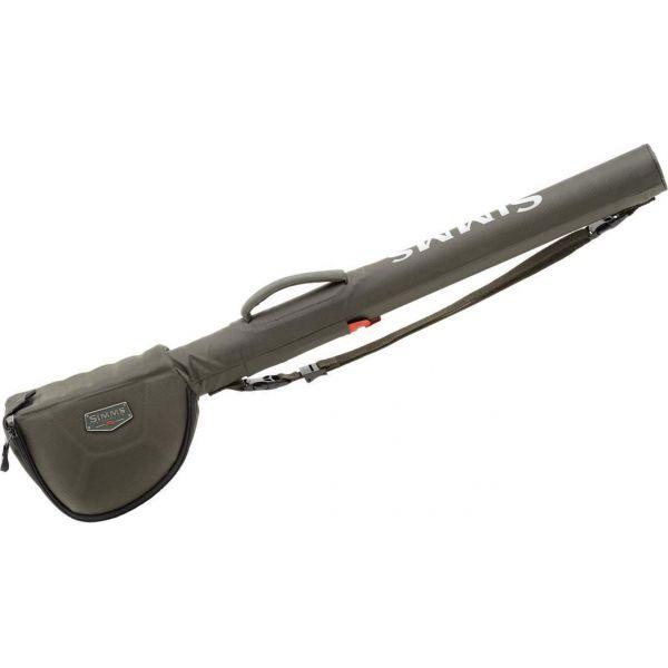 Simms 11191-064-4110 Bounty Hunter Single Rod/Reel Case - Coal