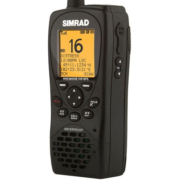 Simrad HH36 Handheld VHF Radio w/ Built-in GPS