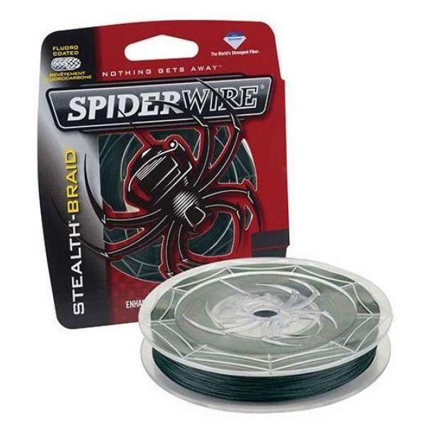 Spiderwire SCS100G-200 Stealth Stealth Moss Green Braid 200yds 100lb