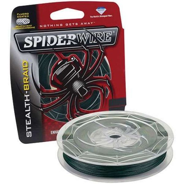 Spiderwire Stealth Braid 300yds 6lb-50lb - Moss Green 30lb
