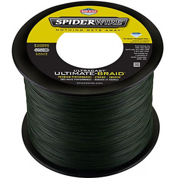 Spiderwire Ultracast Ultimate Braid - 50lb - 1500yds - Lo-Vis Green