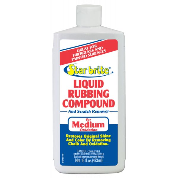 Star Brite Liquid Rubbing Compound For Medium Oxidation - 16 oz.