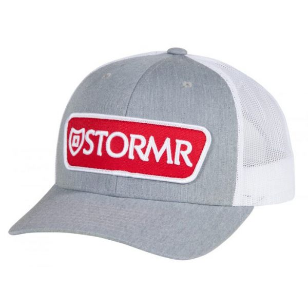 Stormr Patch Mesh Hat - Gray