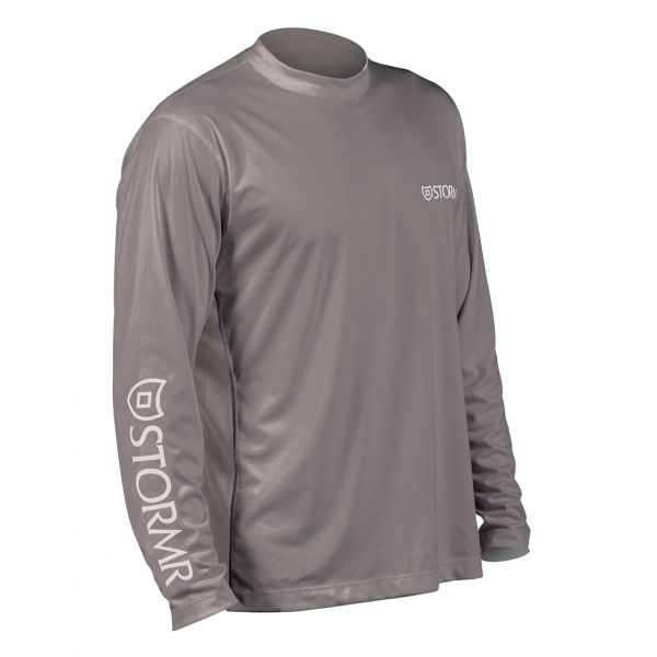 Stormr RW215M-02 Men's UV Shield Long Sleeve Shirt Smoke