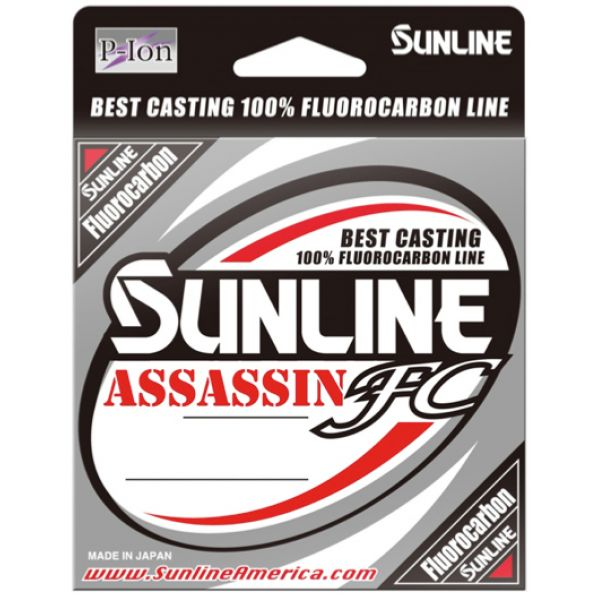 Sunline Assassin FC Fluorocarbon Line - 20lb