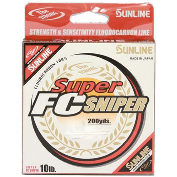 Sunline 63038916 Super FC Sniper Fluorocarbon Line 12lb 200yd