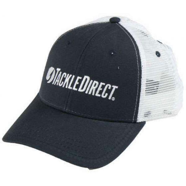 TackleDirect Custom Low Crown Hat Carolina/White