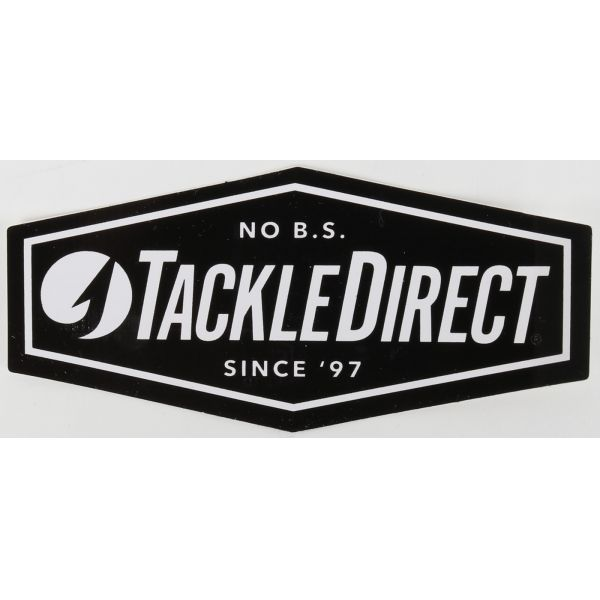 TackleDirect No B.S. Decals