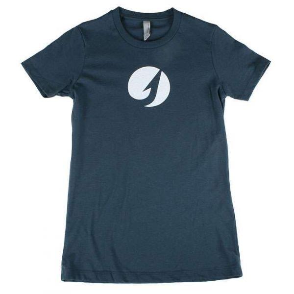TackleDirect Hook Logo Women's T-Shirt - Indigo - Size X-Small