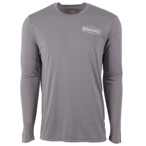 TackleDirect No B.S. Logo Performance Long Sleeve Shirt