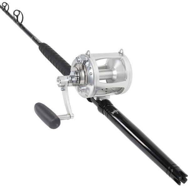 Avet EXW 50/2 LH Silver / TackleDirect Platinum Hook Standup Combo