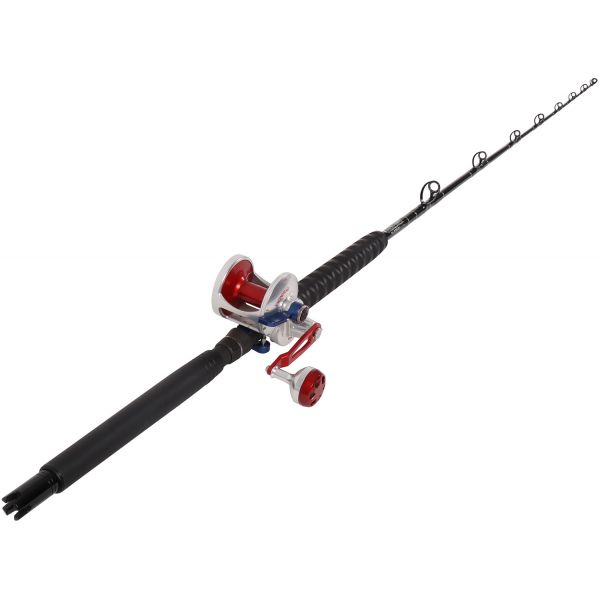 Accurate BVL-600SW / TackleDirect Platinum Hook White Marlin Combo
