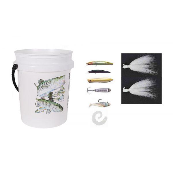 TackleDirect Striped Bass Casting Bucket Kit