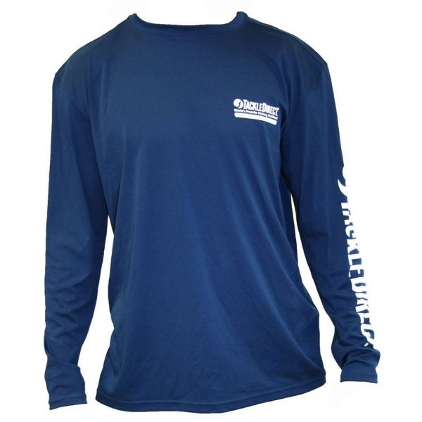 TackleDirect TD Logo Denali Performance Long Sleeve Tee - Size X-Large
