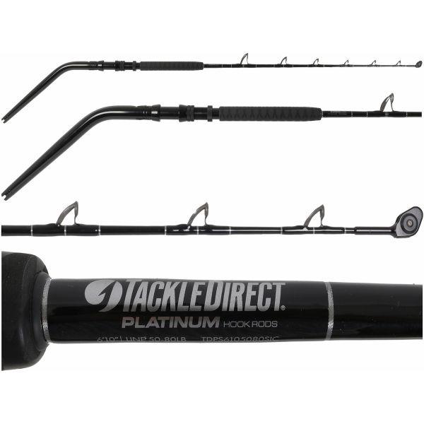 TackleDirect TDPS6105080WTSIC Platinum Hook Daytime Swordfish Rod