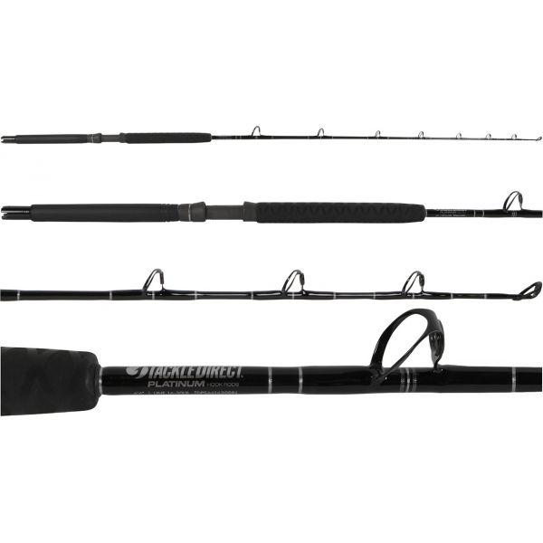 TackleDirect Platinum Hook Conventional Sailfish Standup Rod