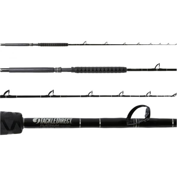 TackleDirect TDPS662040SIN Platinum Hook Conventional White Marlin Rod
