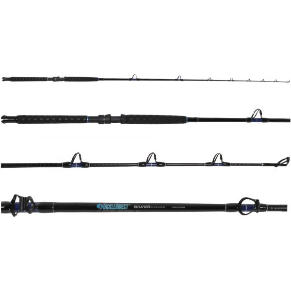 TackleDirect TDSSUT661MHSB Silver Hook Conventional Stand Up Rod