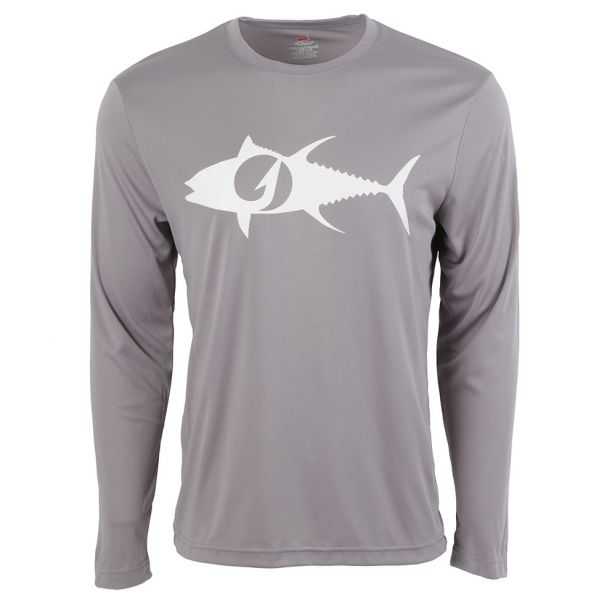 TackleDirect Tuna Logo Men's Performance LS Shirts