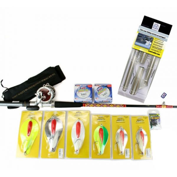 TackleDirect Striped Bass Wire Trolling Package