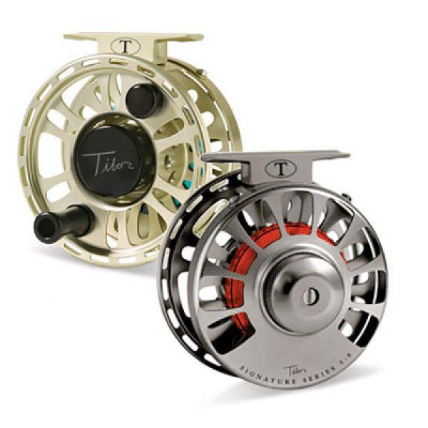 Tibor Signature Series 5/6 Fly Fishing Reels - Jet Black